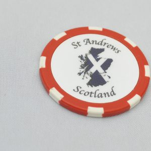 St Andrews Ball Marker Poker Chip