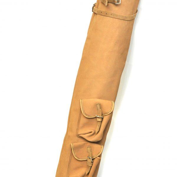 Tan Pencil Bag
