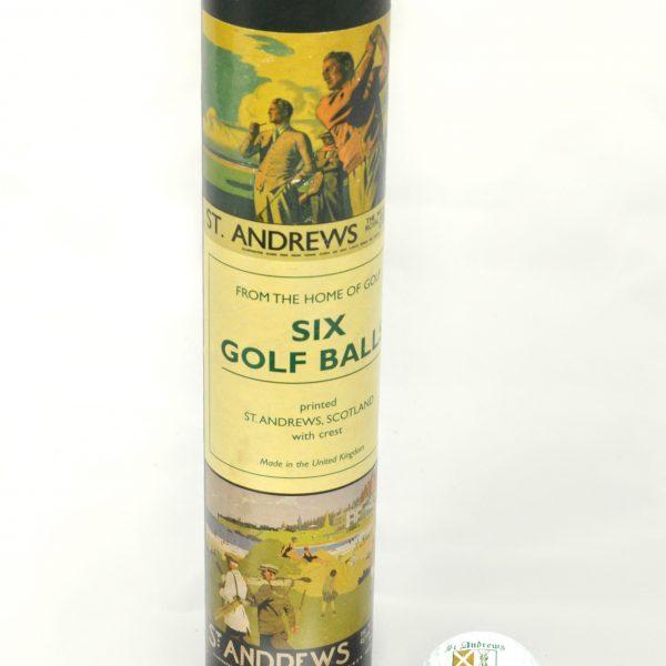 St Andrews Golf Balls X6