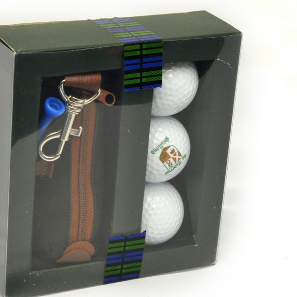 St Andrews Golf Balls and Bag Boxed