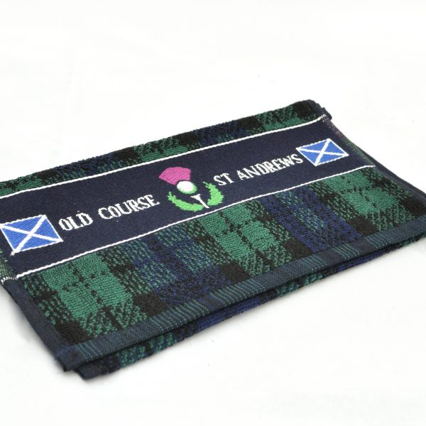 St Andrews Woven Golf Towel