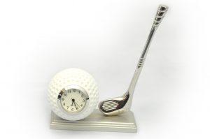 Golf Ball Club Clock