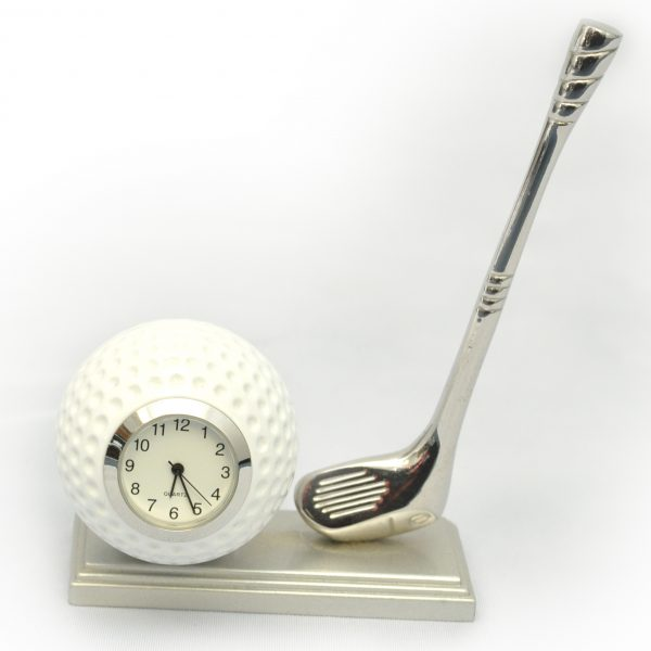 Golf Ball Club Clock