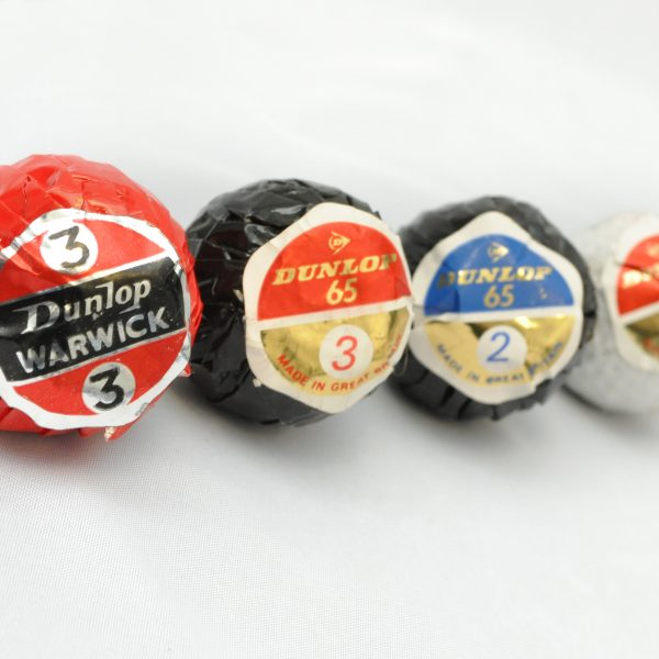 Dunlop Individually Wrapped Balls