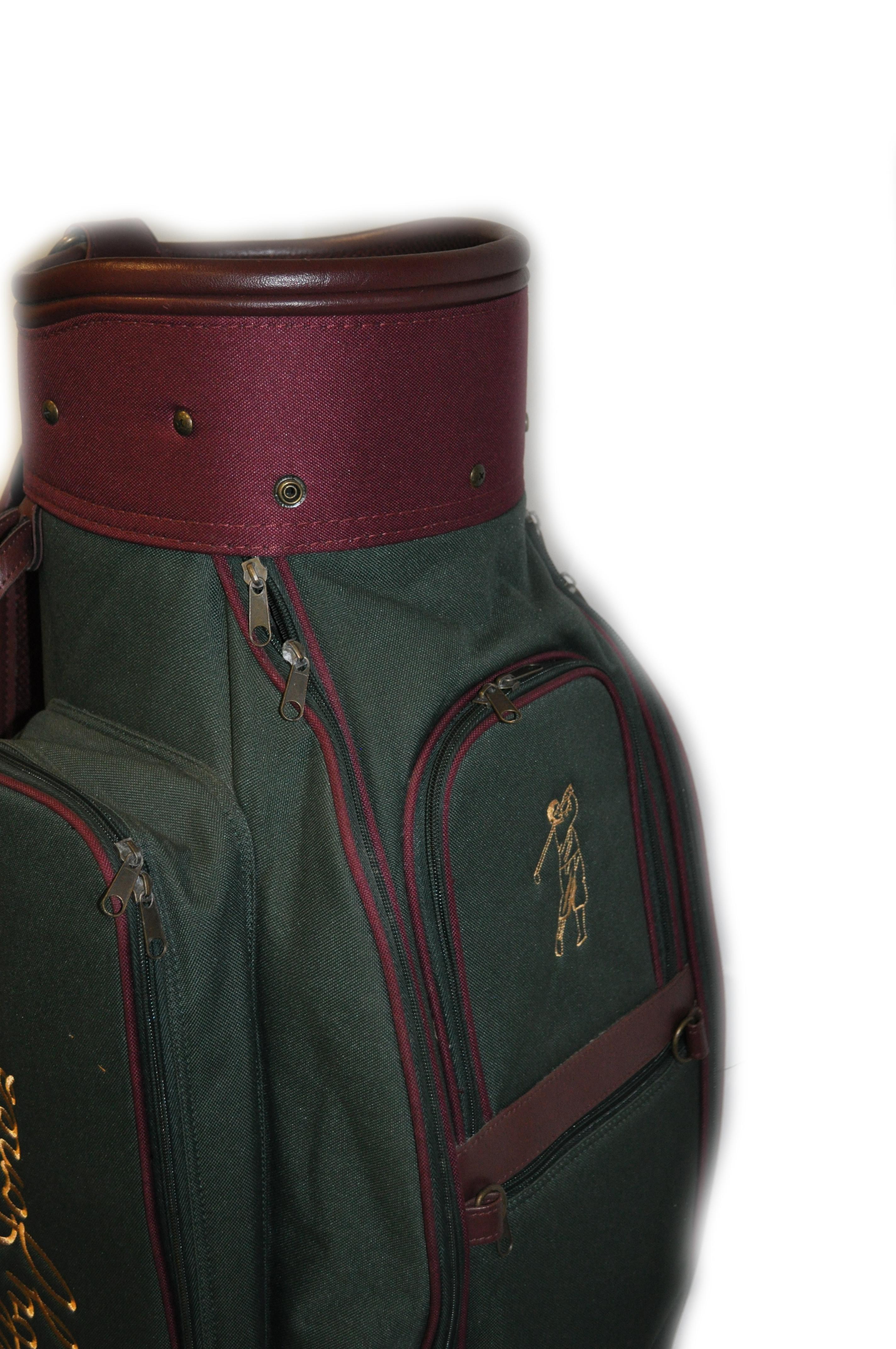 "GOLF BAG ""BOBBY JONES"" Cart Bag £75.00 - GG356   Hickory ..."